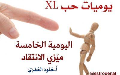 ٥. ميزي الانتقاد | يوميات حب XL